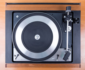 Vintage  turntable vinyl record player
