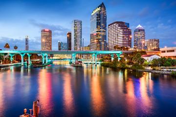 Tampa, Florida Skyline
