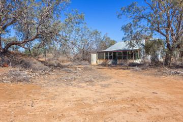 Abandoned homestead in outback Australia.