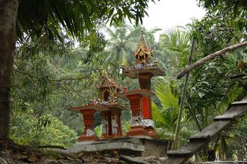 Gebetsstätte in Asien