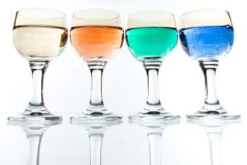 Kolorowe napoje