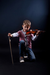 Violinenspieler