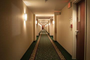 Fototapeta hotel hallway obraz