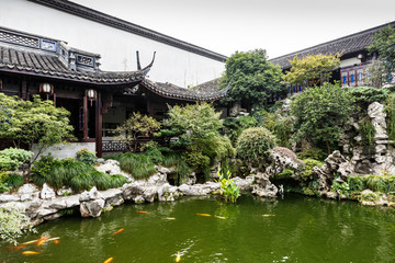 Chinese traditional courtyard garden