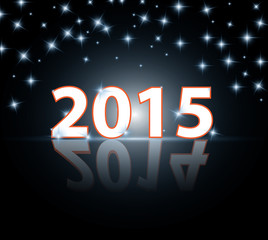 Vector 2015 -  stardust background illustration