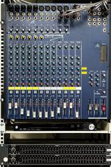 Button control sound mixer