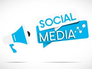 megaphone : social media