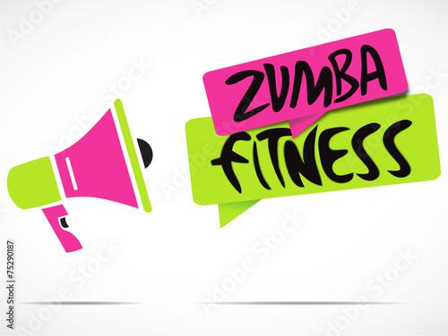 m gaphone zumba fitness stock image and royalty free vector files rh fotolia com zumba fitness logo vector zumba free vector