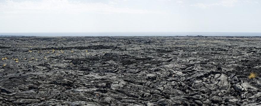 big island lava fields