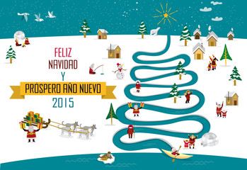Skimos New year Christmas 2015_Spanish