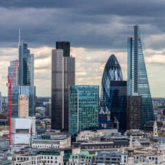 Photo sur Plexiglas Londres The City of London in the afternoon
