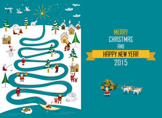Arctic River Christmas 2015 _english
