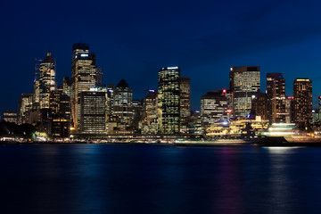 Wall Mural - Sydney Skyline by Night