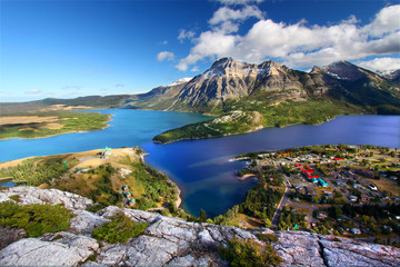 Wall Mural - Waterton Lakes National Park