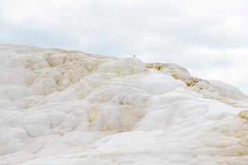 Amazing white rock