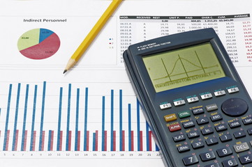 Analyzing statistical data with a scientific calculator