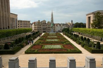 Albertine-Square in Brussels