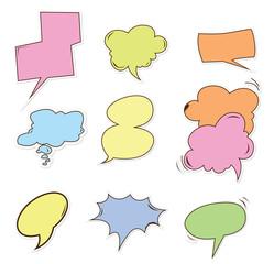 bubble speech Object