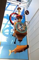 Wishing fish clock, Cheltenham © Arena Photo UK