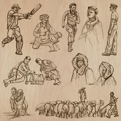 Natives - Hand drawn vectors