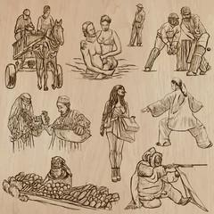 Natives - Hand drawn vectors