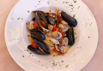 Plate shellfish