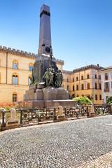 Denkmal Alla Famiglia Cairoli, Pavia