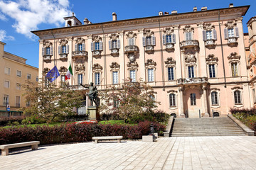 Palazzo Mezzabarba, Pavia, Italien