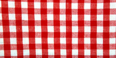 Karo-Muster rot-weiß