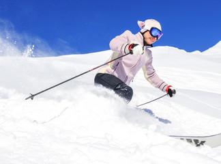 mit Freude skifahren