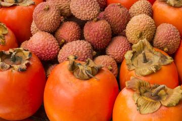 Plateau fruits exotiques