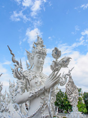 angel guardian of a temple in Thailand