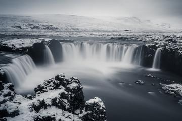 Fotobehang Bestsellers Godafoss, Islande