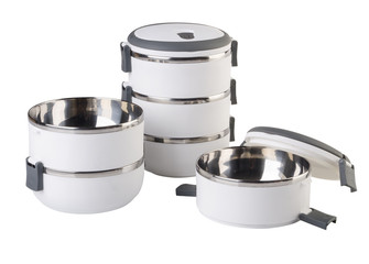 Food Container Tiffin, Food Container on background.