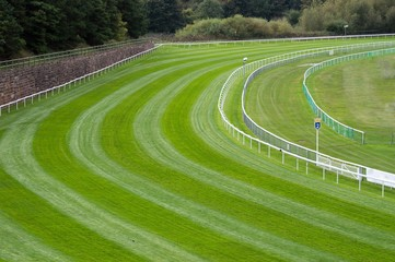 Bend on a RaceCourse