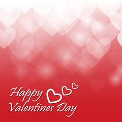 Heart valentine light vector background.vector eps10