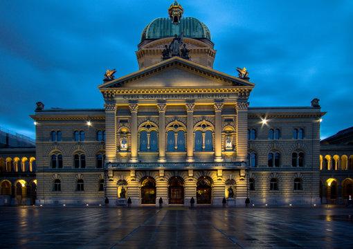 Swiss Parliament building