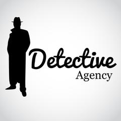Detective Agency. Vector art.