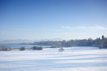 Seeshaupt winter