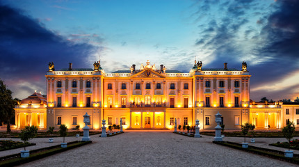Obraz Pałac Branickich w Białymstoku Białystok, Polska - fototapety do salonu