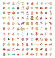 Doodle Christmas element. vector illustration.
