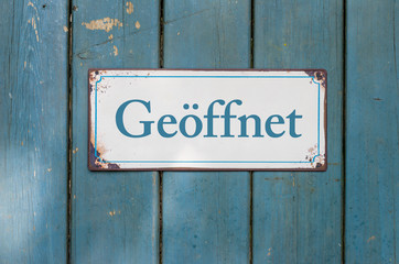 Geoffnet