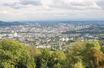 High Angle View on Linz