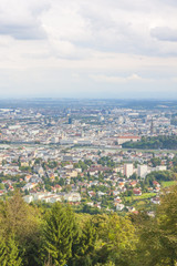 High Angle View on Linz