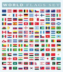 world Flags icon, vector illustration