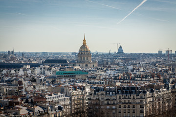 View over the rooftops of Paris