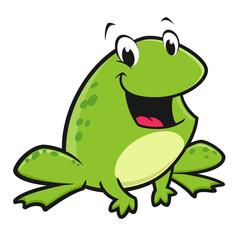 Cartoon Funny Frog