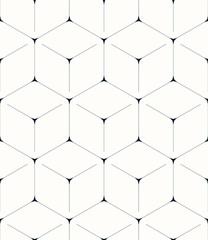 Geometric background, seamless pattern, hexagon