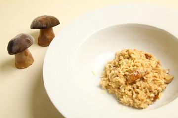 risotto de ceps
