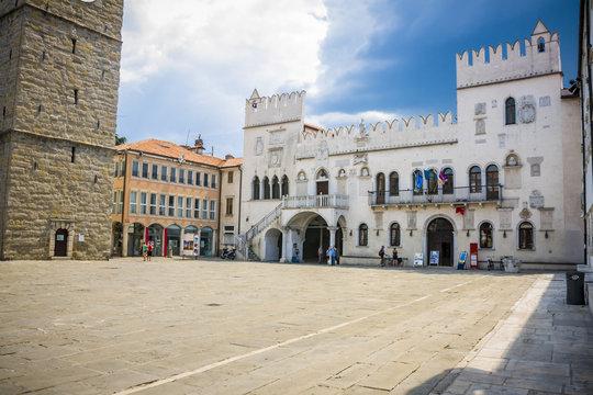 Street in Koper, Slovenia